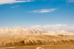 Wüsten- und Gebirgslandschaft, Israel Stockfotografie