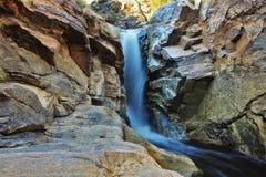 Wüsten-Wasserfall Lizenzfreies Stockfoto