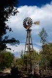 Wüsten-Windmühle Stockfotos