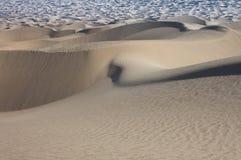 Wüsten-Zeilen Stockfoto