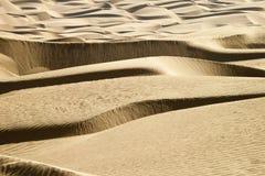Wüsten-Zeilen Stockfotografie