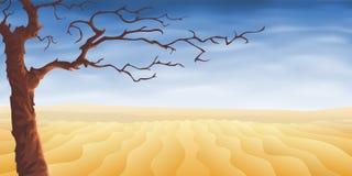 Wüstenbaum stock abbildung
