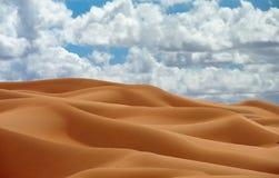 Wüstendüne lizenzfreies stockfoto