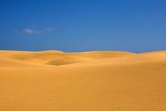 Wüstendünen stockfotos