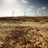 Wüstenenergie Stockfotos