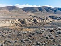 Wüstenfarbe nahe Nixon, Nevada Lizenzfreie Stockfotografie