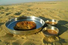 Wüstenfrühstück Lizenzfreie Stockfotos