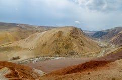 Wüstengebiet ähnlich Mars lizenzfreie stockbilder