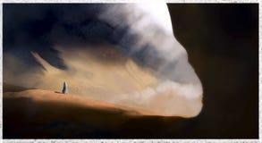 Wüstenhöhle Lizenzfreies Stockbild