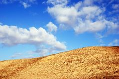Wüstenhügel Lizenzfreie Stockfotos