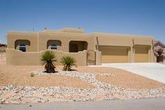 Wüstenhaus Stockbild
