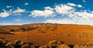 Wüstenlandpanorama Stockfotos