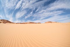 Wüstenlandschaft, Ägypten, Süd-Sinai Lizenzfreies Stockfoto