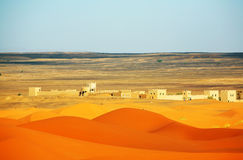 Wüstenlandschaft lizenzfreies stockbild