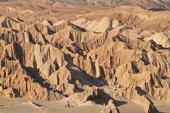 Wüstenlandschaft des Tales von Mars Lizenzfreies Stockfoto
