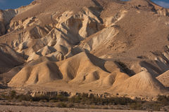Wüstenlandschaft, Negev, Israel Stockfotografie