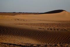 Wüstenlandschaft Sahara in Marokko, Afrika Lizenzfreie Stockfotografie