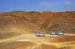 Wüstensafari stockbilder