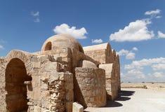 Wüstenschloss Quseir (Qasr) Amra nahe Amman, Jordanien Lizenzfreie Stockbilder