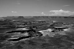 Wüstenschlucht Stockfoto