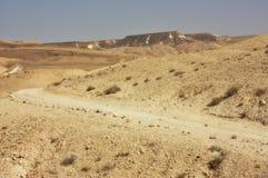 Wüstenspur stockfotografie