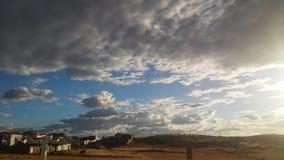 Wüstenstadt Stockbild