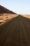 Wüstenstraße Stockbild