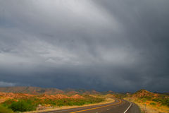 Wüstensturm Stockbild