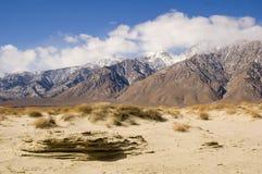 Wüstenszene in Death Valley Lizenzfreies Stockfoto