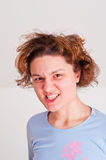 Wütende Frau Stockbild