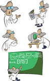 Wütende Wissenschaft Lizenzfreie Stockbilder
