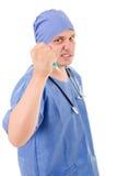 Wütender Doktor Lizenzfreies Stockbild