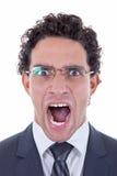 Wütender Geschäftsmann Stockbilder