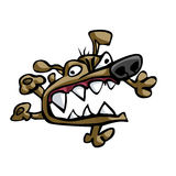 Wütender Hund Stockfoto