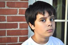 Wütender kleiner Mann Stockfoto