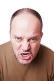 Wütender Mann Lizenzfreie Stockfotos