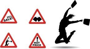 Wütender Verkauf Lizenzfreie Stockfotografie