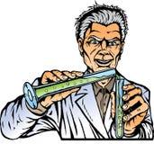 Wütender Wissenschaftler. Stockbilder