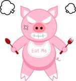 Wütendes Schwein Stockbild