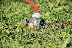 wąż elastyczny podlewanie Zdjęcie Royalty Free