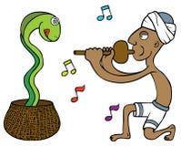Wąż Poskromicielka ilustracji