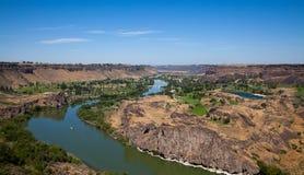 Wąż Rzeka Obraz Royalty Free