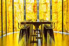 Wąż skóry restauracja Obrazy Royalty Free
