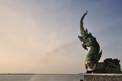 wąż statua Obraz Stock