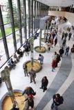 Wąż wody mineralnej pawilon w zdroju grodzki Karlovy Zmienia, Zachodnia cyganeria, republika czech zdjęcie royalty free
