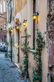 wąska ulica we włoszech Zdjęcie Royalty Free