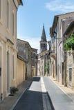 Wąska ulica w centrum miasta odpowiedni, mały zdjęcia royalty free