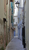 Wąski uliczny Trieste Obraz Stock