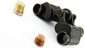 wąski wizję pieniądze Zdjęcie Stock