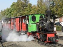 Wąskiego wymiernika kontrpary kolei pociąg Zdjęcia Stock